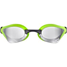 arena Cobra Core Mirror Gafas, silver-green